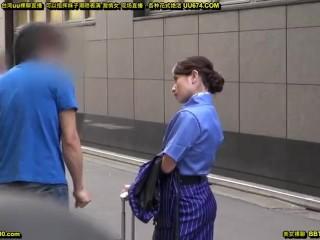 【NTR】仕事帰りの彼氏持ちの美人CAをナンパしてホテルに連れ込みガン突きする!